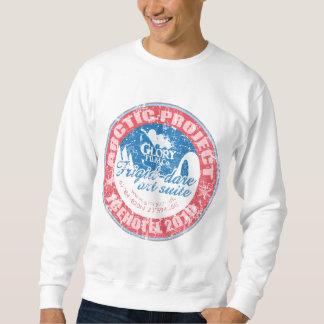 ARCTIC PROJECT Distressed design on sweatshirt