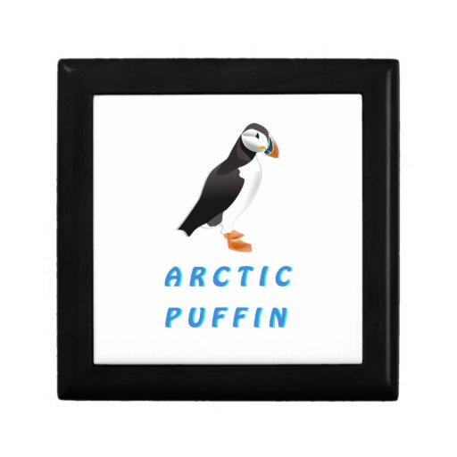 Arctic Puffin Keepsake Box