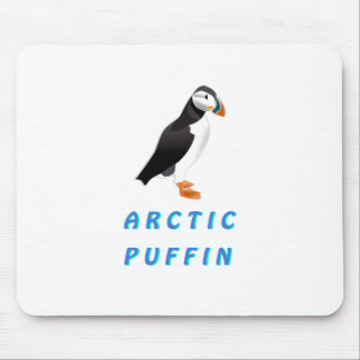 Arctic Puffin Mouse Pad