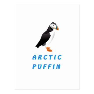Arctic Puffin Postcard