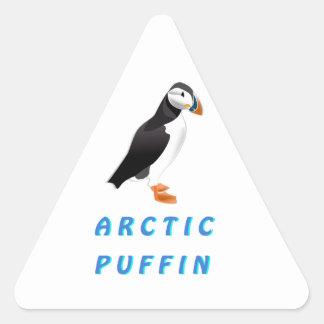 Arctic Puffin Triangle Sticker