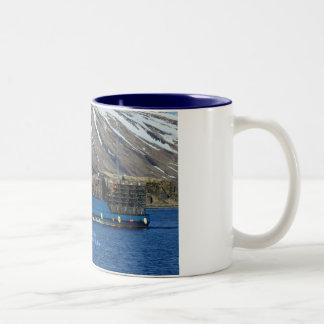 Arctic Sea Crab Boat in Dutch Harbor Alaska Coffee Mugs
