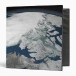 Arctic sea ice above North America Binders