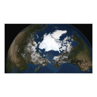 Arctic sea ice photo print