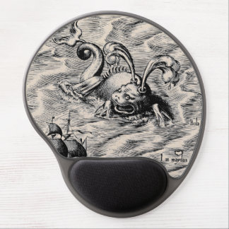Arctic Sea Monster Gel Mouse Pad