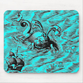 Arctic Sea Monster Mouse Pad