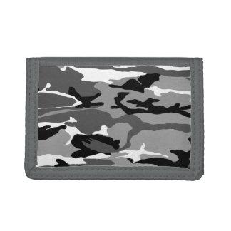Arctic Snow Camo Tri-fold Wallet