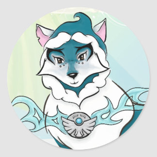 Arctic Spirit Wolf Sticker