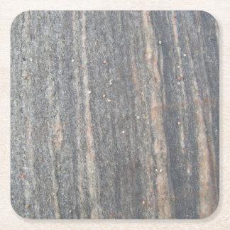 Arctic stone square paper coaster