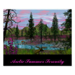Arctic Summer Serenity Posters