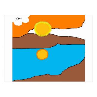 arctic sun postcard