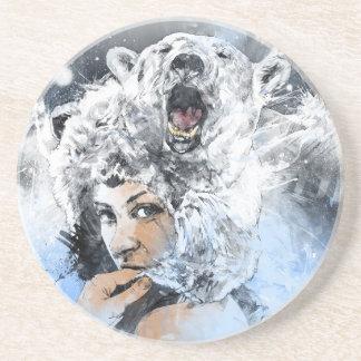 Arctic Tears Drink Coasters