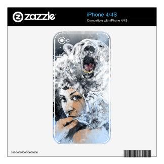 Arctic Tears iPhone 4S Decals