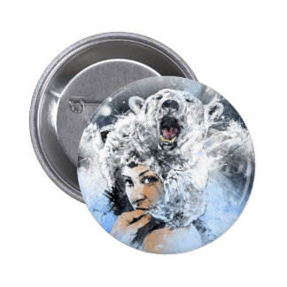 Arctic Tears Pinback Button