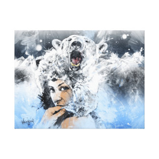 Arctic Tears Stretched Canvas Prints