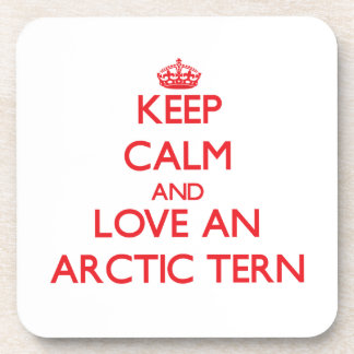 Arctic Tern Beverage Coaster