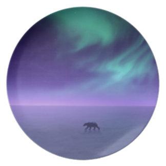 Arctic Walk Polar Bear Plates