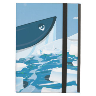 Arctic Whale Case For iPad Air