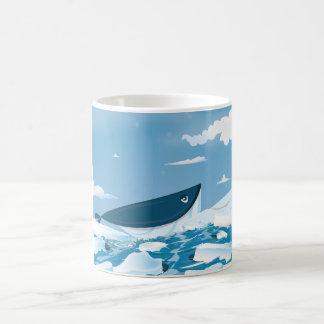 Arctic Whale Coffee Mug