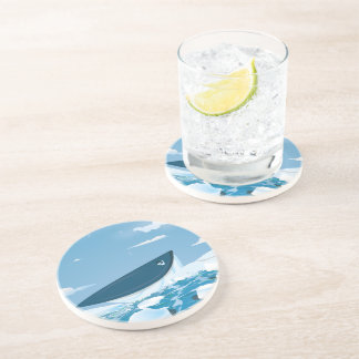 Arctic Whale Drink Coaster