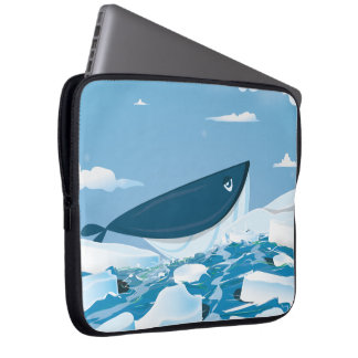 Arctic Whale Computer Sleeves