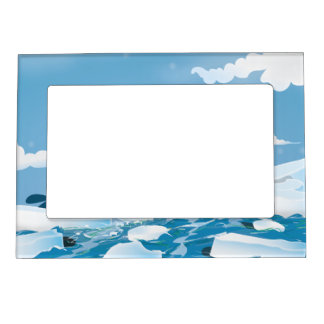 Arctic Whale Magnetic Frame