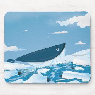Arctic Whale Mousepads