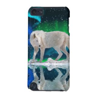 Arctic Wolf & Aurora Wildlife Ipod Touch Case