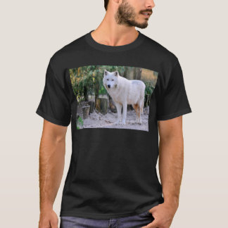 Arctic Wolf in the forest T-Shirt