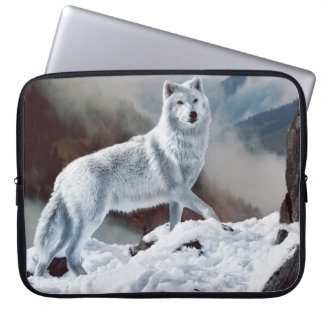 Arctic Wolf Laptop Computer Sleeves