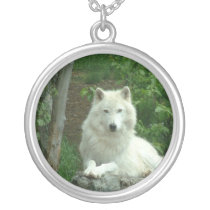 Arctic Wolf Necklace