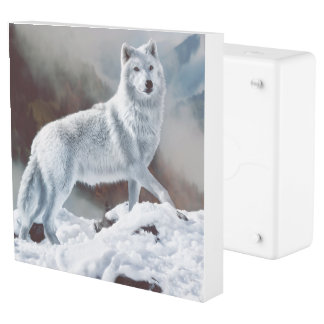 Arctic Wolf Outlet Cover