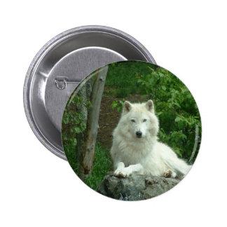Arctic Wolf Pin