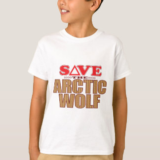 Arctic Wolf Save T-Shirt