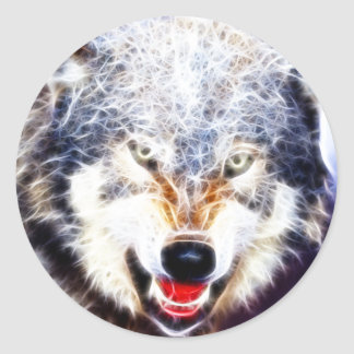 Arctic Wolf Stickers