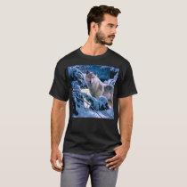 Arctic wolf - white wolf - wolf art T-Shirt