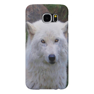 Arctic Wolf Wildlife Supporter Gift Samsung Galaxy S6 Case