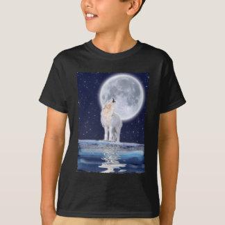 ARCTIC WOLF & WINTER MOON T-Shirt