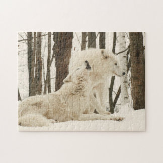 Arctic Wolves Jigsaw Puzzle
