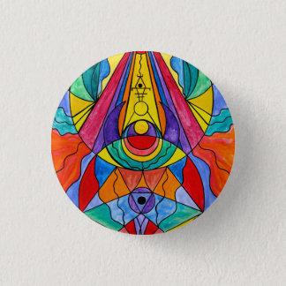 """Arcturian Insight Grid"" 1¼ Inch Round Button"