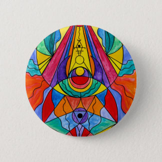 """""""Arcturian Insight Grid"""" 2¼ Inch Button"""