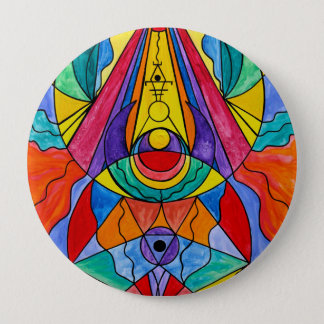 """""""Arcturian Insight Grid"""" 4 Inch Button"""