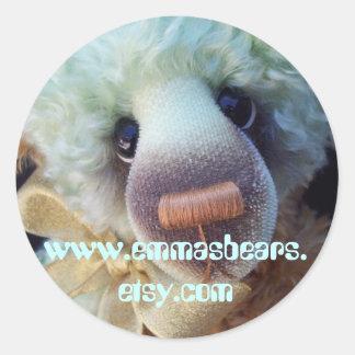 Ardelis bear classic round sticker
