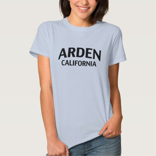 Arden California Playeras