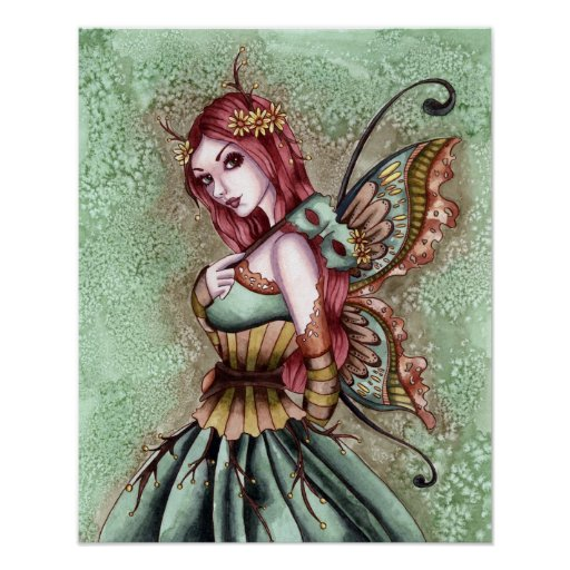 Arden - Fairy Art Poster