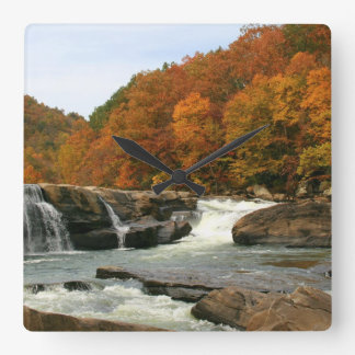 Arden State Park. West Virginia Square Wall Clock