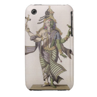 Ardhanarishvara, from 'Voyage aux Indes et a la Ch Case-Mate iPhone 3 Case