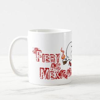 Ardientemente como cacao mexicano taza de café