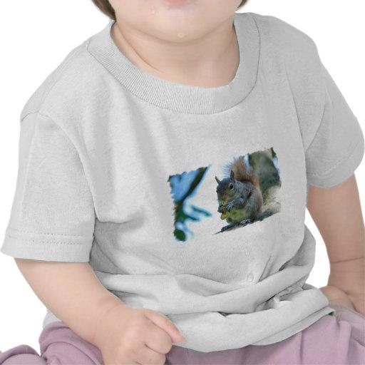 Ardilla adorable camisetas