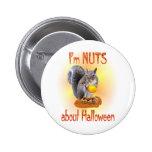 Ardilla de Halloween Pins